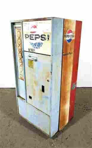 Pepsi Vendorlator Coin Operated Vending Machine