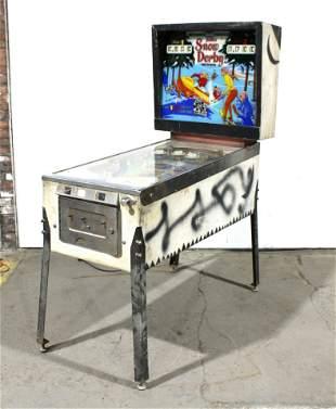 Gottlieb Snow Derby Pinball Machine