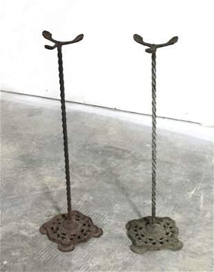 Victorian Cast Iron Fern Stands