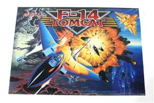 Williams F-14 Tomcat Pinball Translite