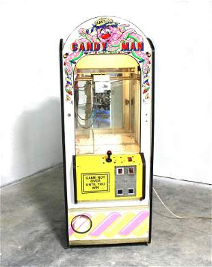 Candy Man Coin Operated Crane