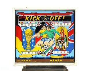 Bally Kick Off! Soccer Pinball Machine