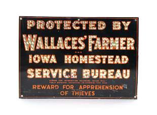 Iowa Farmer Tin Sign