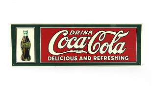 Drink Coca Cola Refreshing Advertising Sign