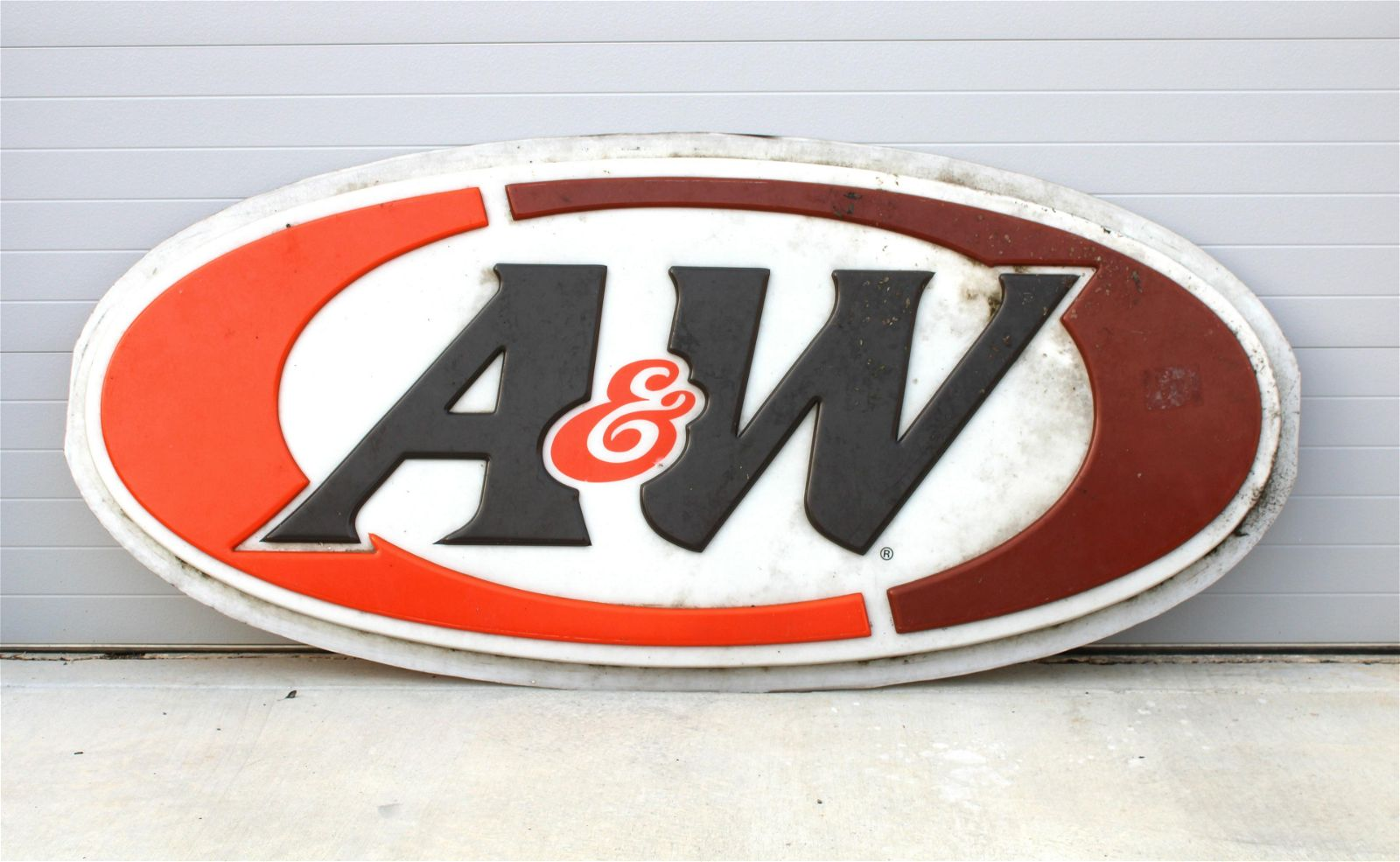 A&W Root Beer Sign