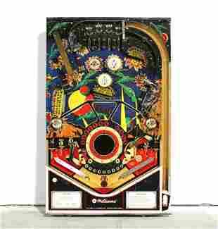 Williams Stellar Wars Populated Pinball Playfield
