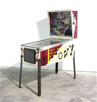 Allied Leisure's Rock On Pinball Machine