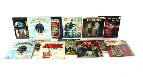 Vinyl Records, CDs & Laser Discs