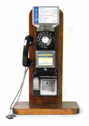 Coin Operated Pay Phone, Automatic Electric Co.