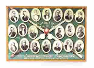 "Brunswick, Balke, Collender Co. ""Billiards Experts"","