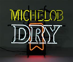 Michelob Dry Beer Neon Sign