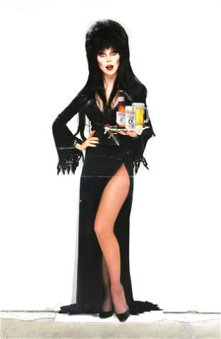 6FT Coors Light Beer Elvira Standee