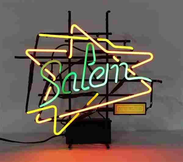 Salem Cigarettes Neon Sign