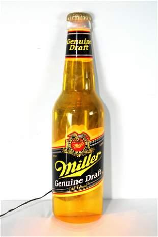 Miller Beer Light Up Sign