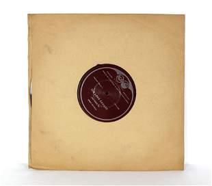 RCA Lone Ranger 16in Original Transcription Record