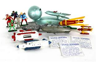 Buck Rogers Toys incl. Flash Blast Attack Ship