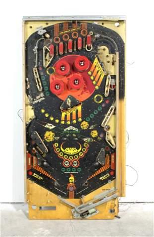 Gottlieb Mars God of War Pinball Playfield