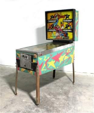 Williams Stardust Pinball Machine