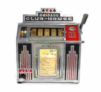 Daval Chicago Club House 1 Cent Trade Stimulator