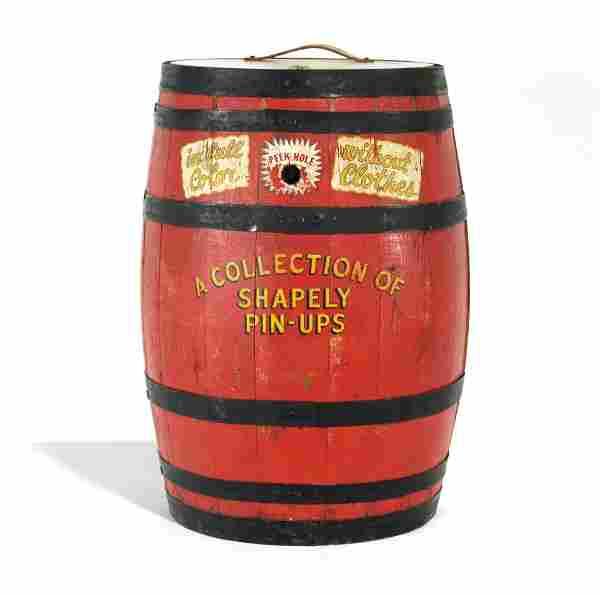 Exhibit Supply Coin Op Peep Show Barrel