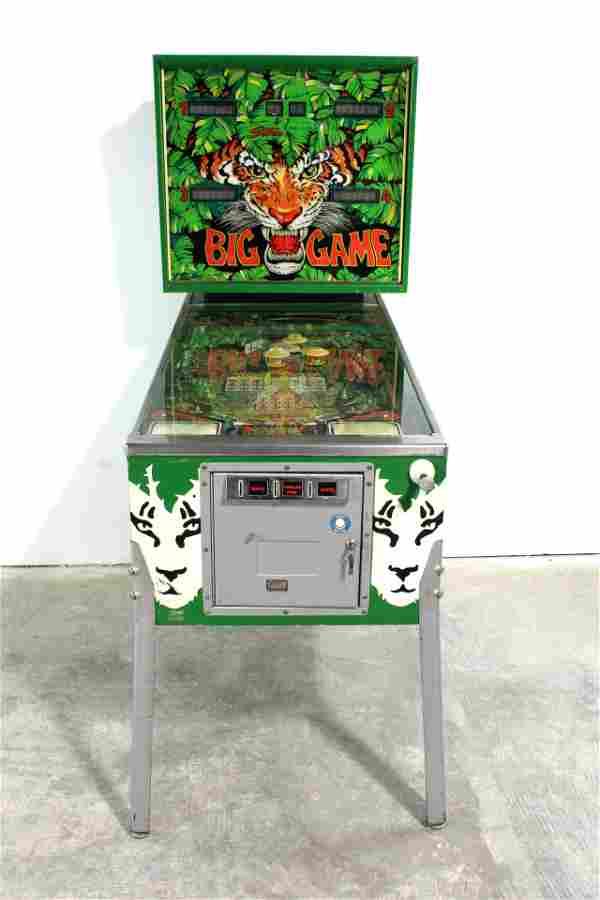 Stern Big Game Pinball Machine