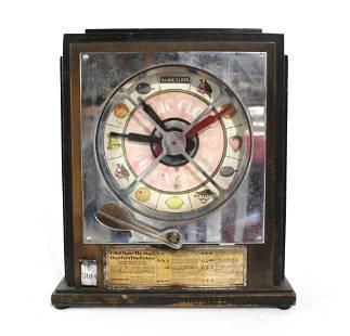 Keeney Magic Clock Coin Op Trade Stimulator, 1930s