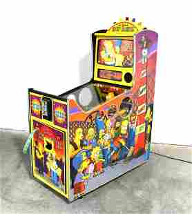 Stern Simpsons Kooky Carnival Ticket Redemption Arcade
