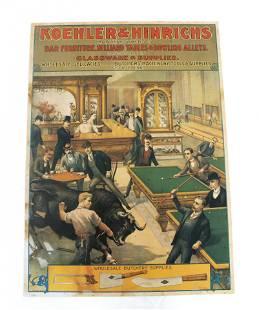 Koehler & Hinrichs Saloon Print