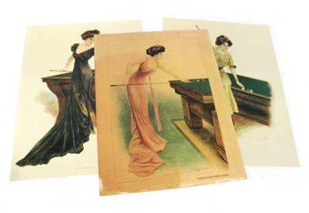 Archie Gunn for Brunswick Billiard Contemporary Prints