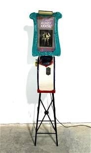 """Mutoscope Cabinet with """"Classy Kickers"""" Topper"""
