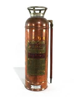 Copper Fire Extinguisher