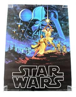 NOS Star Wars Original Movie Poster, 1977