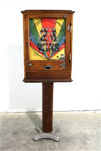 Kraft Automatic English Coin Op Arcade on Stand