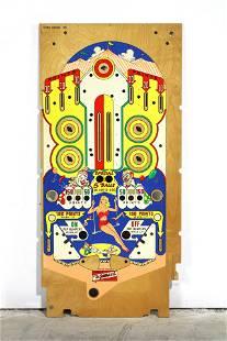 Gottlieb Flying Circus Pinball Playfield