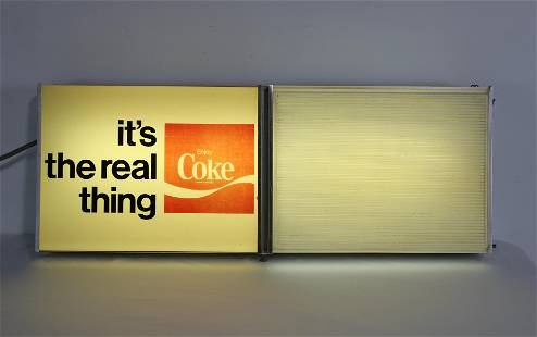 Coca Cola Light Up Menu Board
