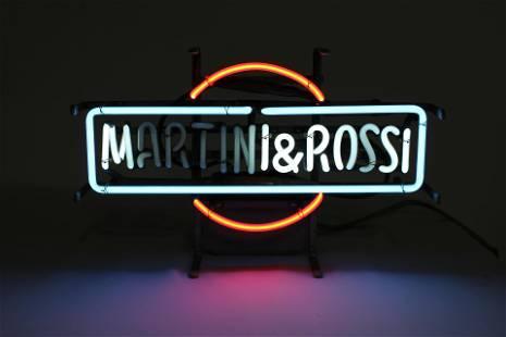Martini & Rossi Neon Sign