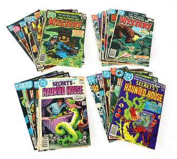 DC's House of Mystery / Secrets of Haunted House Comics