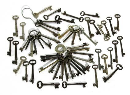 Assorted Skeleton Keys, Lot 1