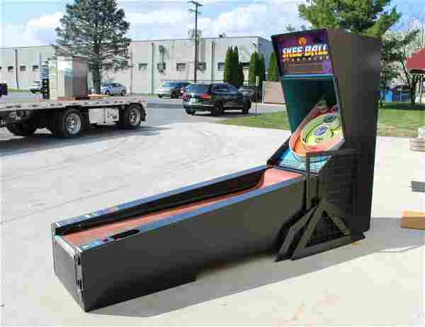 Skee Ball Lightning Arcade Game