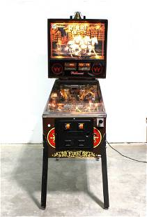 Williams Fire Pinball Machine