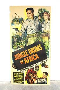 Jungle Drums of Africa Movie Poster