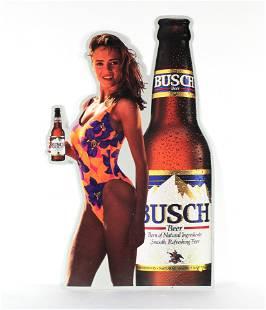 Busch Beer Metal Tac Sign