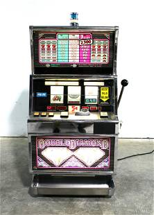 Double Diamond Coin Op Slot Machine