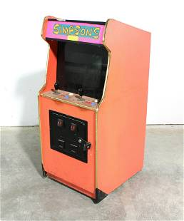 4 FT Child Size Arcade Cabinet with Monitor / Wiring