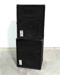Pair of Bag End TA-15 Loud Speakers