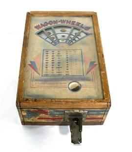 ABT Wagon Wheels Coin Op Trade Stimulator