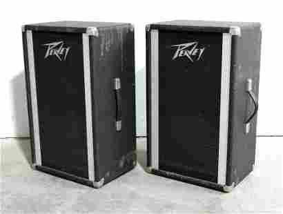 Pair of Peavey PA Model 112 Speakers