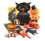 Halloween Decorations incl. German Jack-o-Lanterns