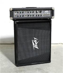 Peavey Floor Speaker PV12M and MP-4 Mixer