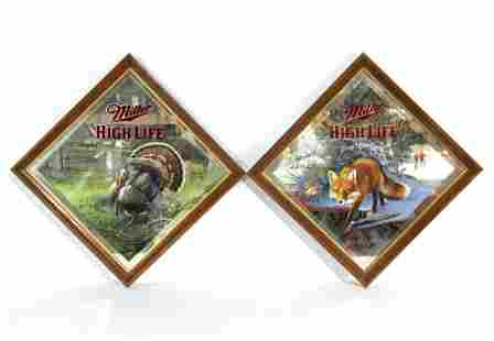 Miller High Life Beer Mirrors